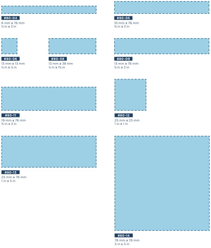 telfa sizes